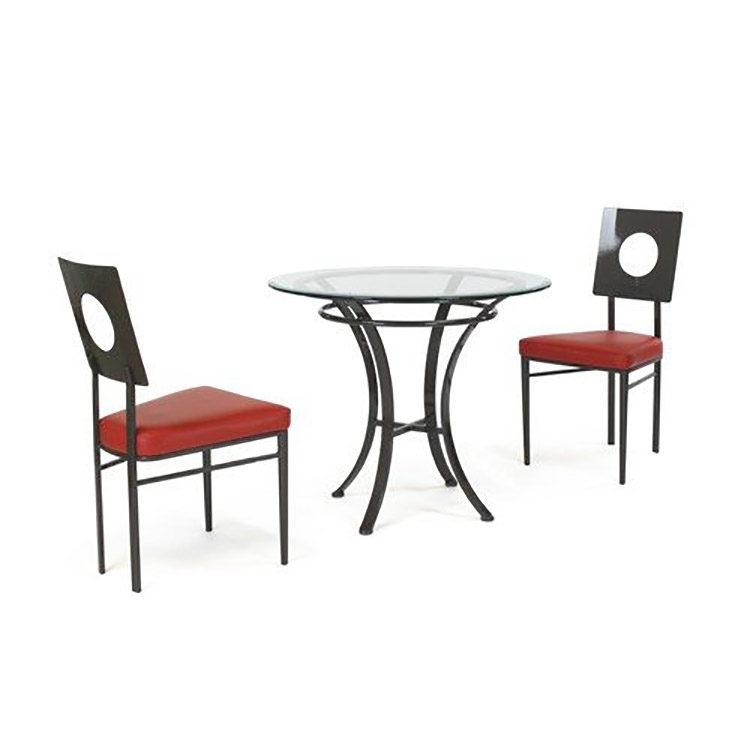JOHNSTON CASUALS Corona Café Set. Corona Café Chairs