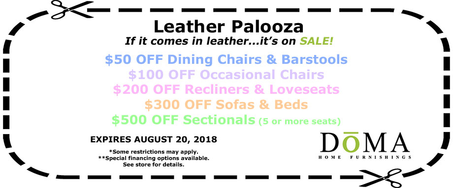 Leather Palooza Sale