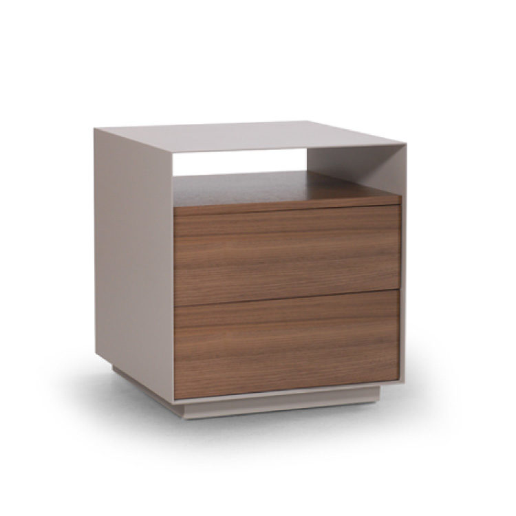 Boulevard Bedroom Side Table by Trica