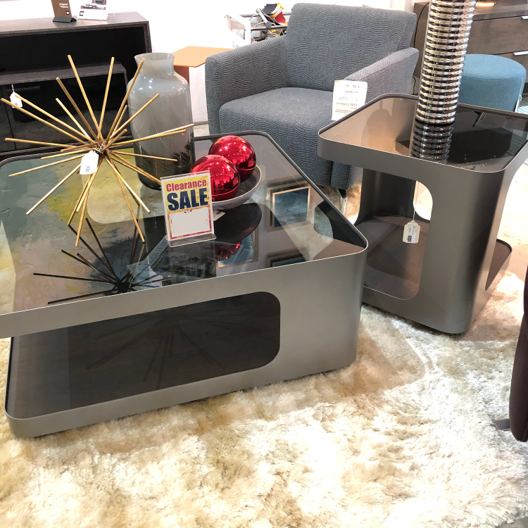 Uptown End Table and Coffee Table