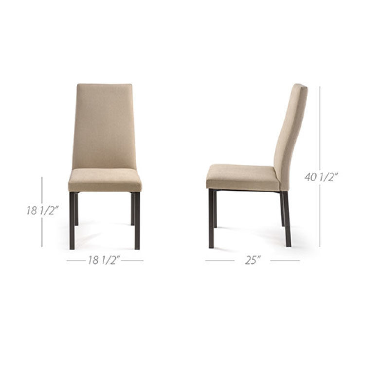 Alto Dining Chair by Trica - Specification Sheet