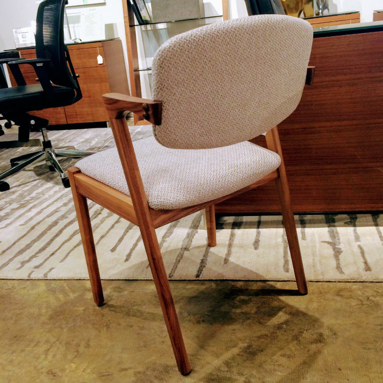 Dinec - 6770 Chair - Natural Walnut