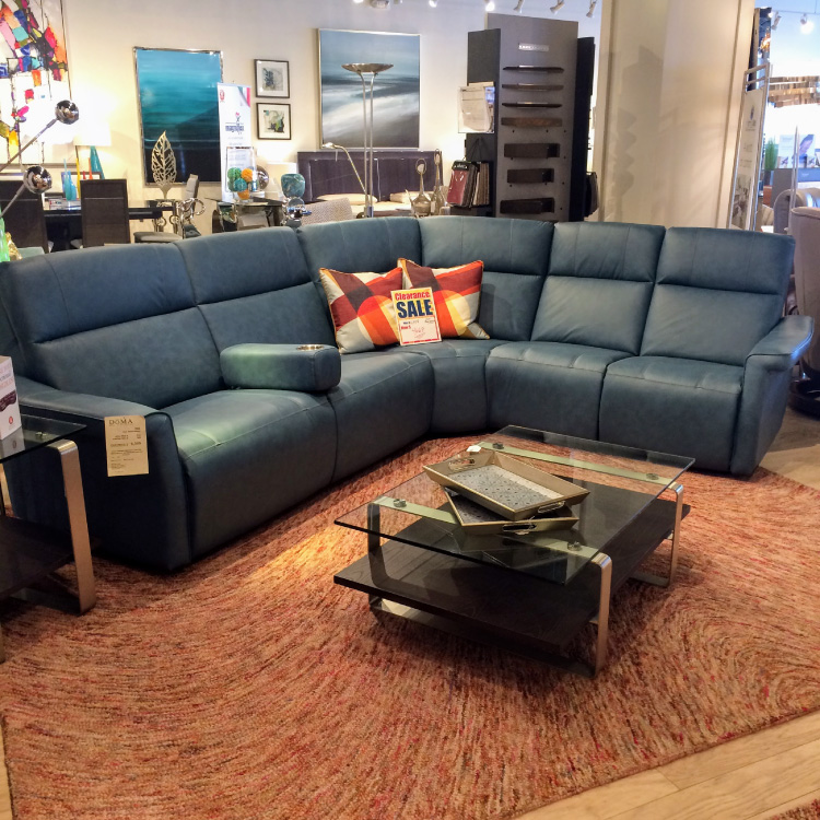 Magnificent Elran Finn Motion Sectional Doma Home Furnishings Andrewgaddart Wooden Chair Designs For Living Room Andrewgaddartcom