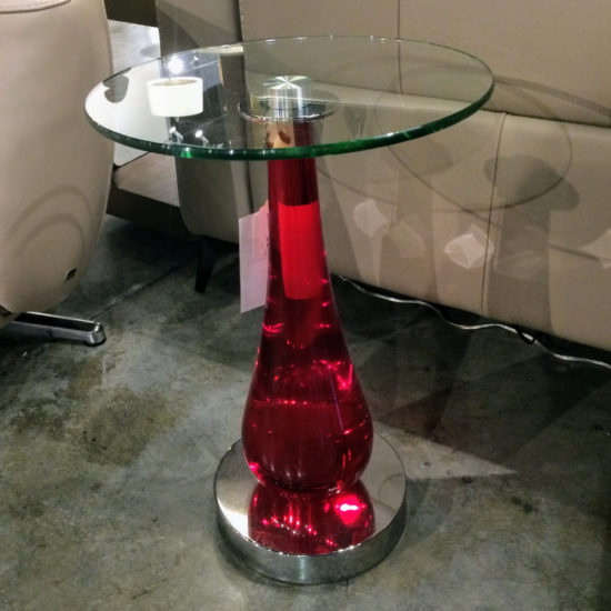 VanTeal - Ruby Accent Table