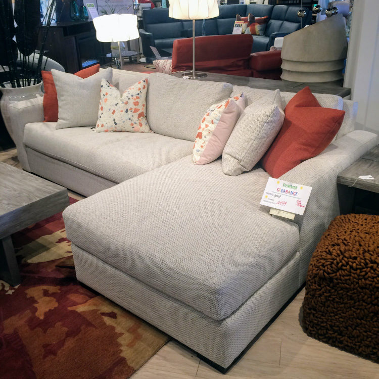 Gia Sofa with Chaise