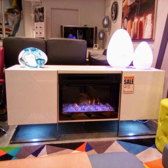 Bryce Media Fireplace