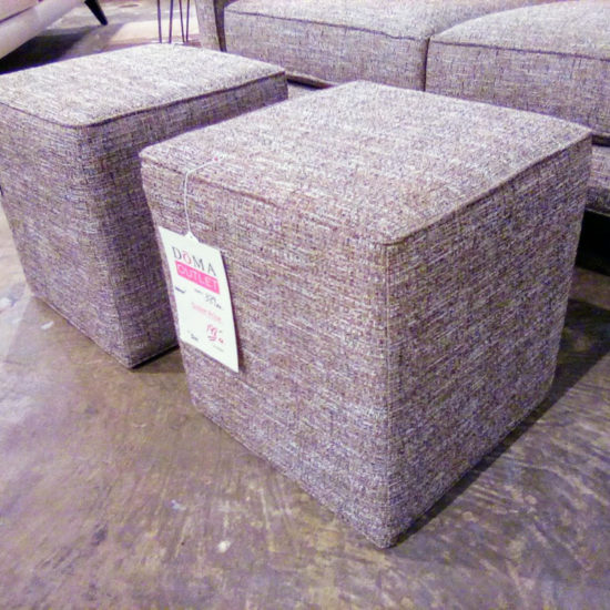 Cube Ottoman by Younger