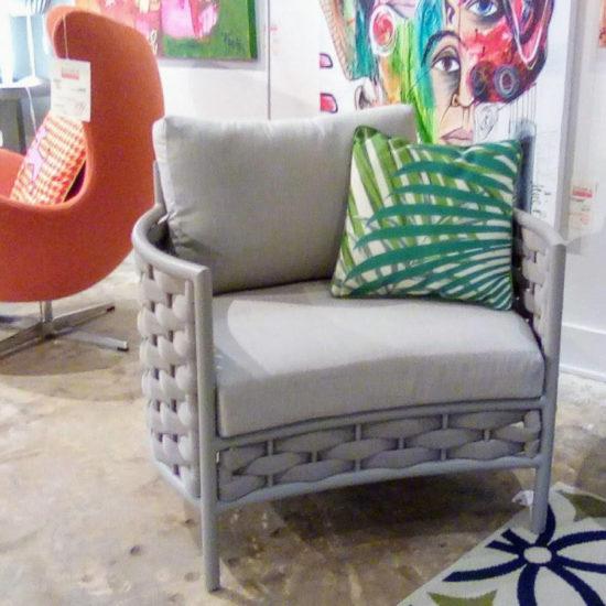 Loop Outdoor Chair - Grey