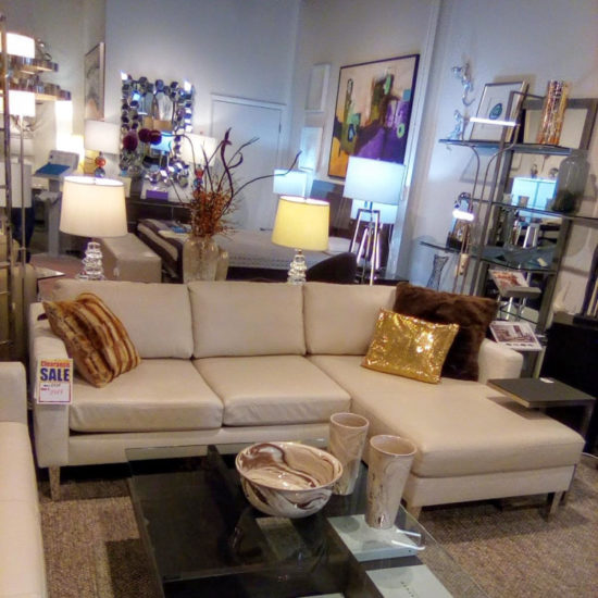 Luxe Sofa with Chaise