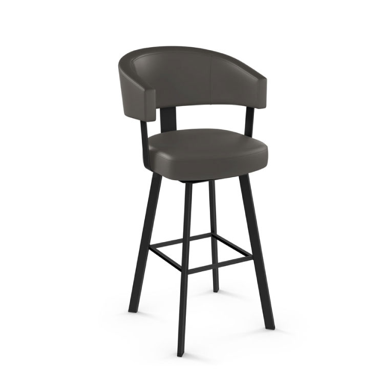 AMISCO Grissom Swivel Bar Stool