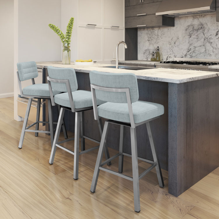 AMISCO Phoebe Swivel Bar Stool