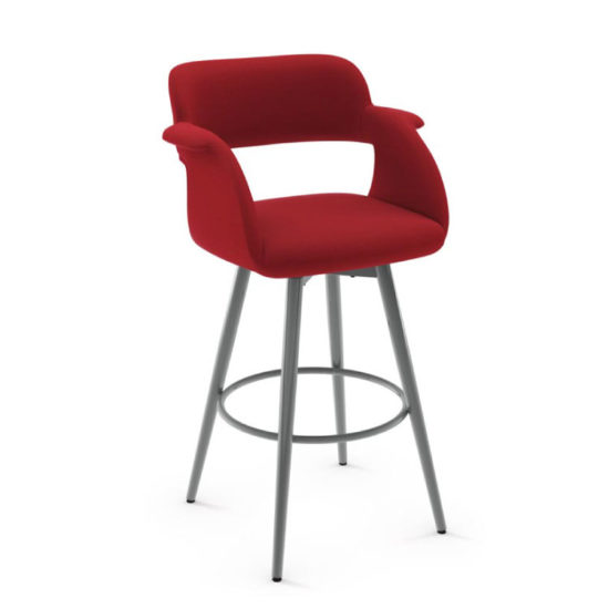 AMISCO Sorrento Swivel Bar Stool