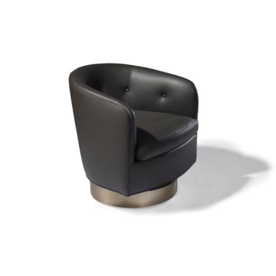 Thayer Coggin Roxy-O Swivel-Tilt Tub Chair