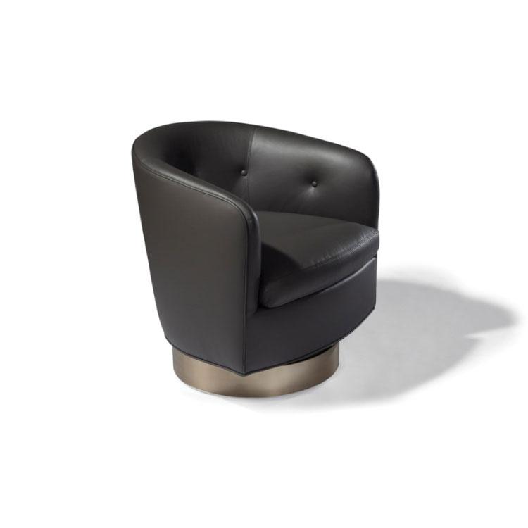 Thayer Coggin Roxy-O Swivel-Tilt Tub Chair