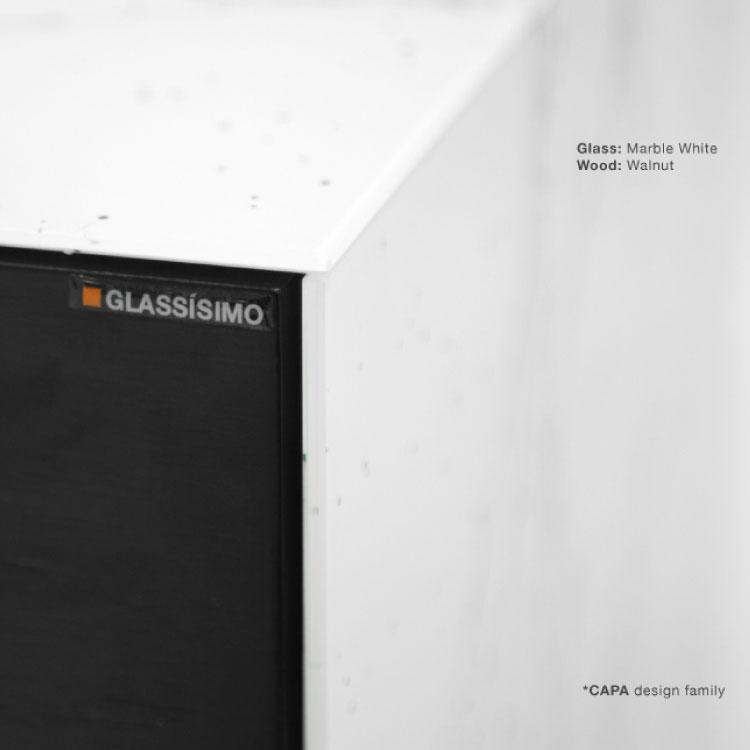 GLASSISIMO Carlo Nightstand