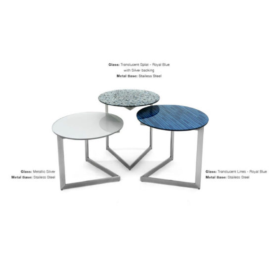GLASSISIMO Cut Side Table