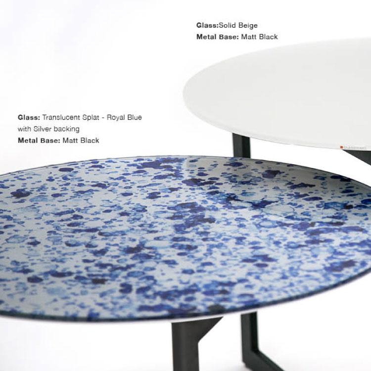 GLASSISIMO Cut Side Table