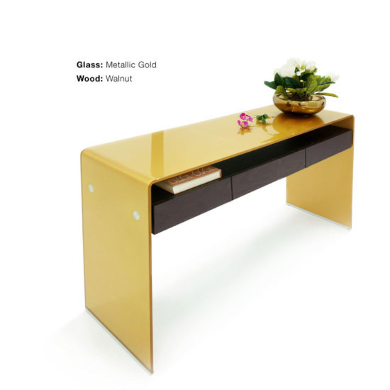 GLASSISIMO Graffetta Console Table