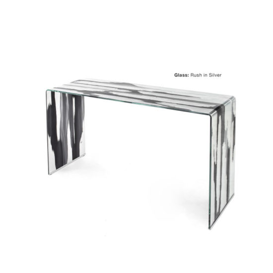 GLASSISIMO Grampo Console Table