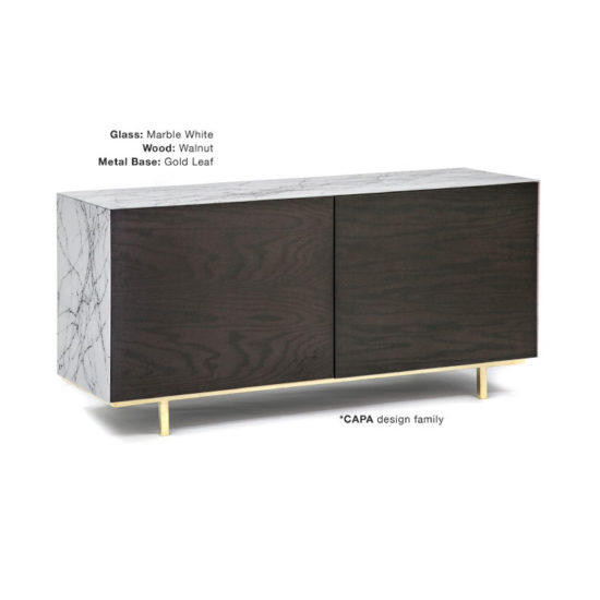GLASSISIMO Nico 2 Door Sideboard