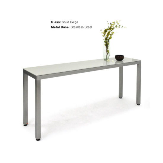GLASSISIMO Plateau Console Table
