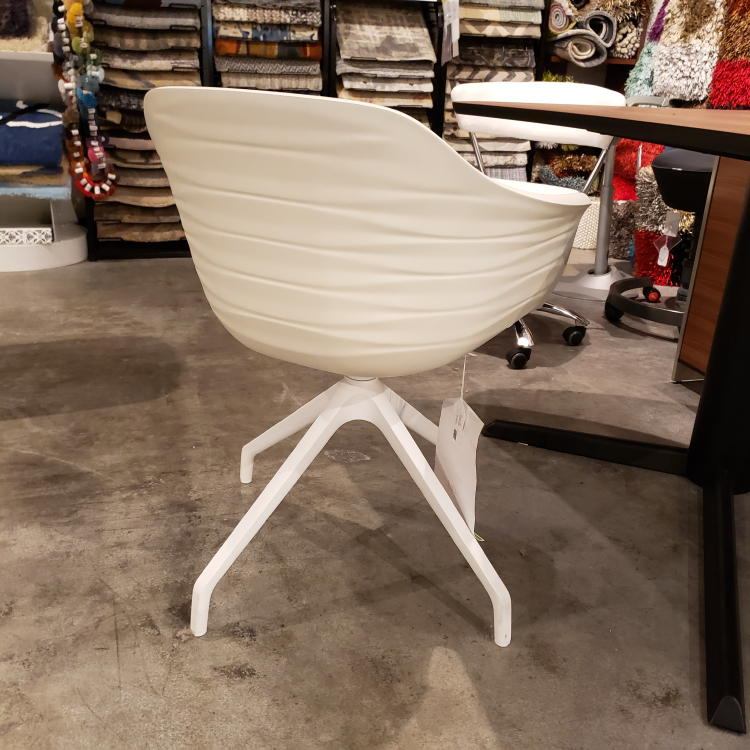 Cattelan - Indy White Swivel Chair