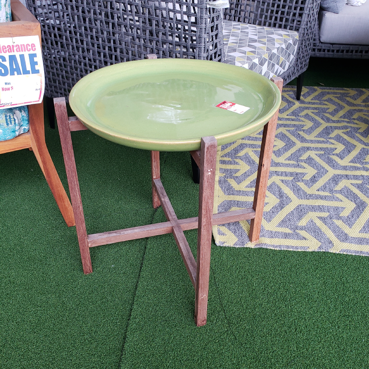 Ibis Ceramic Side Table