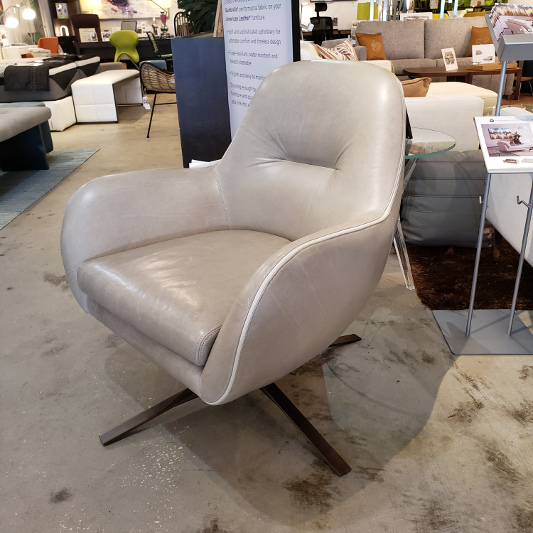 American Leather - Arno Swivel Chair