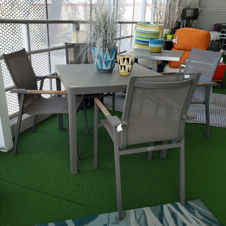 Ella Chairs and Table by Couture Jardin