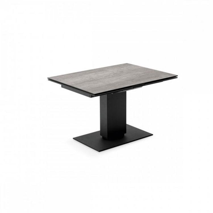 Calligaris Echo Modern Pedestal Base Extending Table