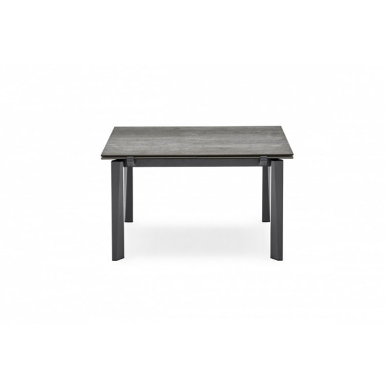 Calligaris Esteso Dining Table Lead Gray Top1