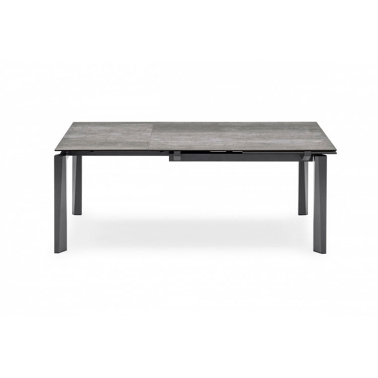 Calligaris Esteso Dining Table Lead Gray Top