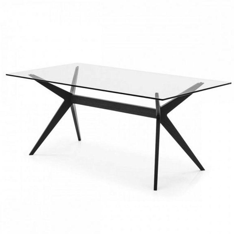 Calligaris Kent Table Glass Top