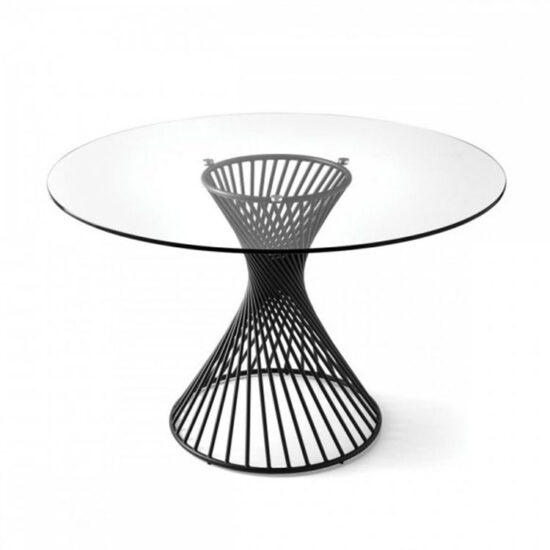 Calligaris Vortex Table Clear Glass