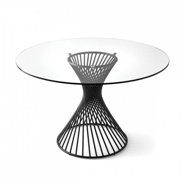 Calligaris Vortex Table Clear Glass