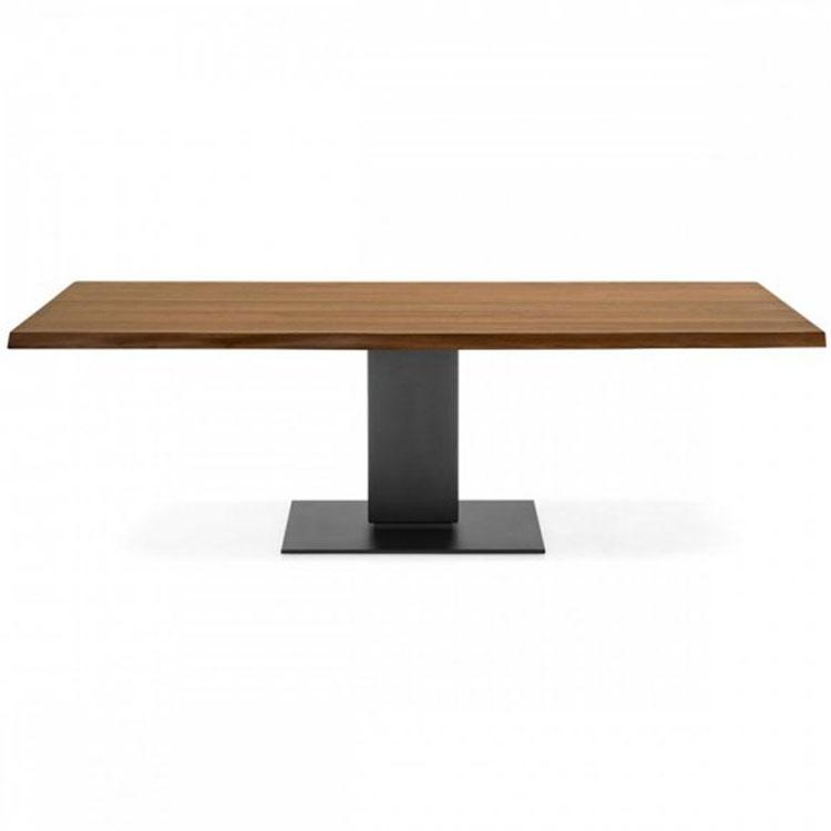 Calligaris Echo Modern Pedestal Base Table