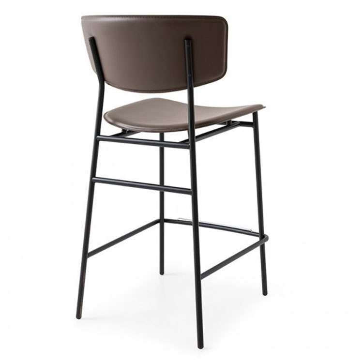 Calligaris Fifties Retro Stool Counter Height Back View