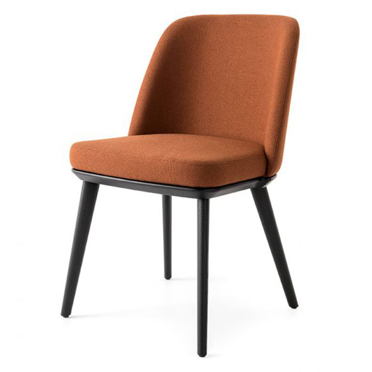 Calligaris Foyer Contemporary Dining Chair Side View