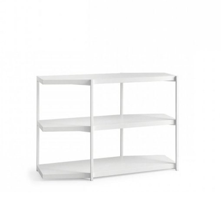 Calligaris Hangar Modern Bookcase System Low White