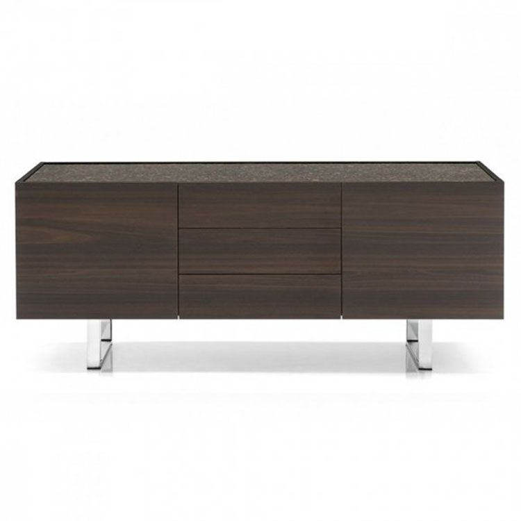 Calligaris Horizon Contemporary Sideboard 2 Compartments 3 Drawers