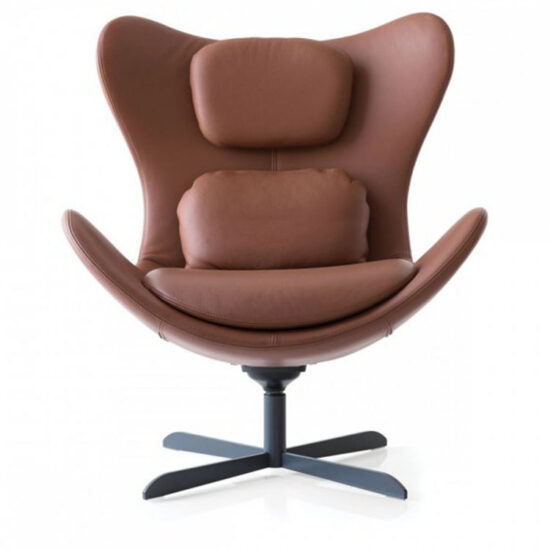 Calligaris Lazy Modern Armchair - Rocking 360' Swivel