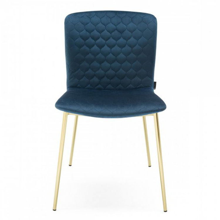 Calligaris Love Dining Chair Blue/Gold