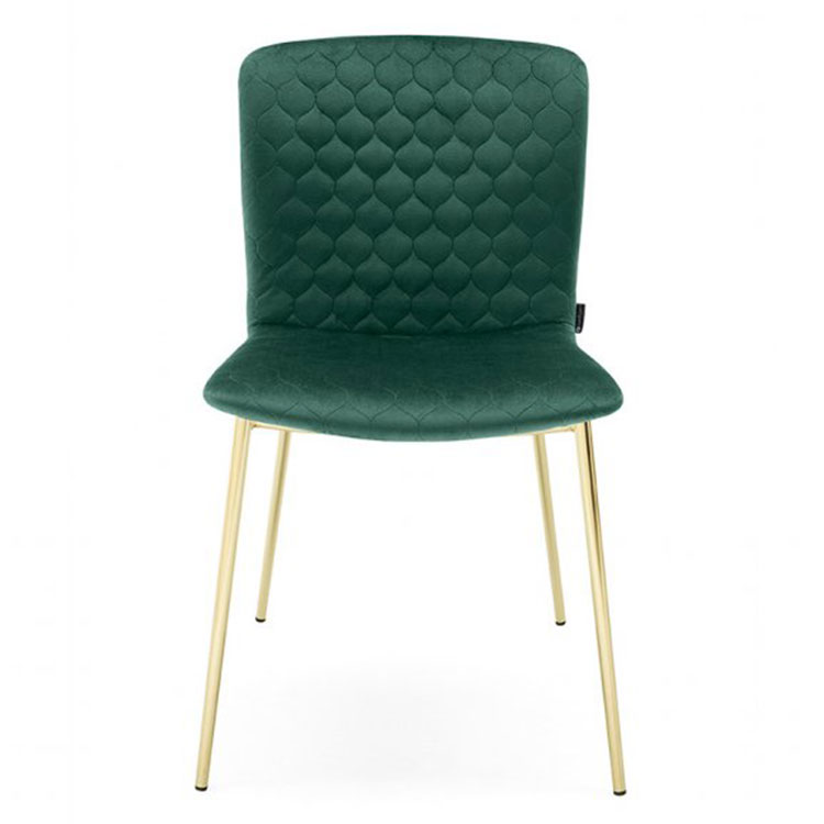 Calligaris Love Dining Chair Green/Gold