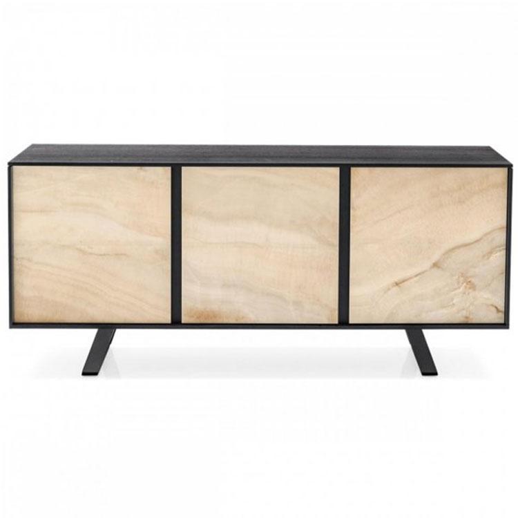 Calligaris Secret Modern Sideboard Ceramic Doors