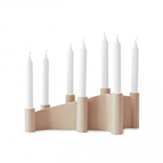 Calligaris Cathedral Candlestick Holder Pink