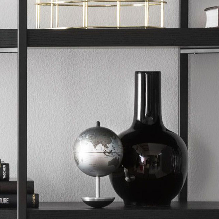 Calligaris Evan Ceramic Vase Black