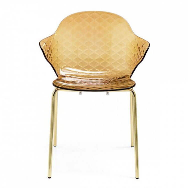 Calligaris Saint Tropez Dining Chair Amber