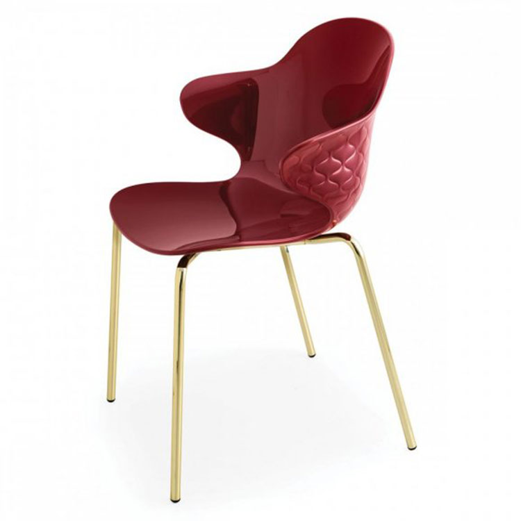 Calligaris Saint Tropez Dining Chair Red