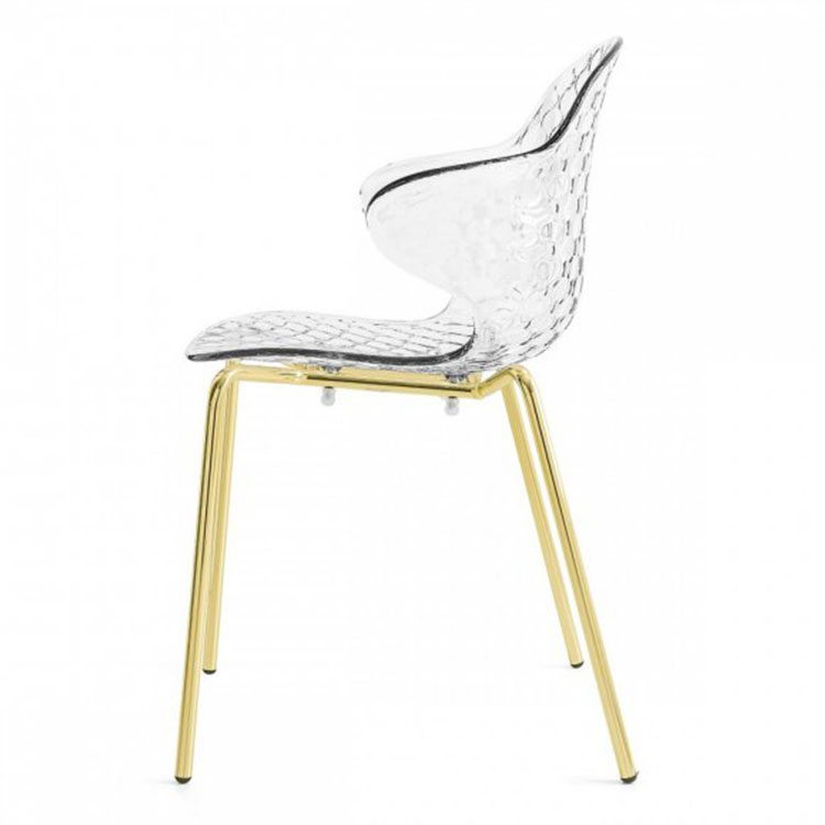 Calligaris Saint Tropez Dining Chair Side View