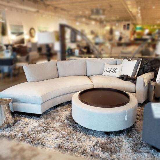 THAYER COGGIN - Clip II Sofa and Ottoman